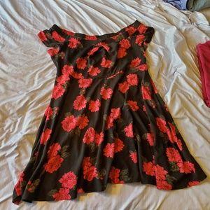 Torrid Off Shoulder Dress